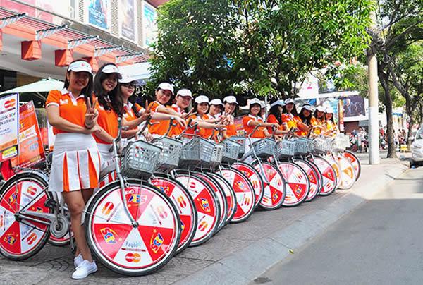 Dịch vụ Roadshow quảng cáo đường phố