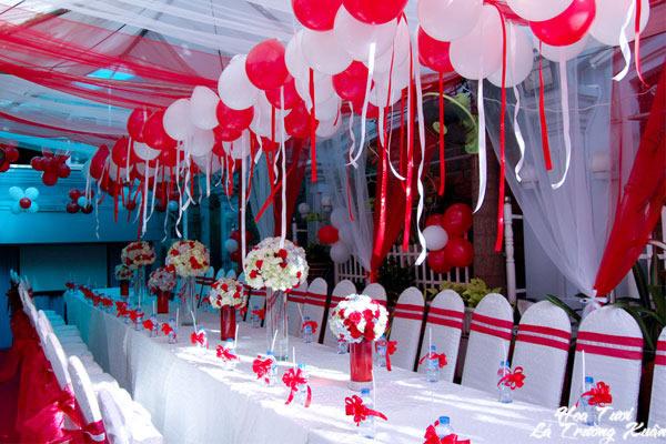 Nhận trang trí bóng bay cho sự kiện, lễ hội, tiệc cưới, sinh nhật